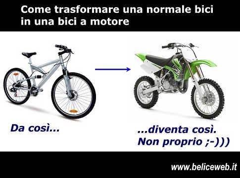 Come Trasformare Una Normale Bicicletta In Una Bicicletta A Motore