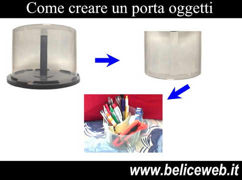 Come creare un porta caramelle o un porta penne con la for Fai da te oggetti