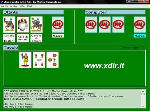 pc gioco carta scopa d asso