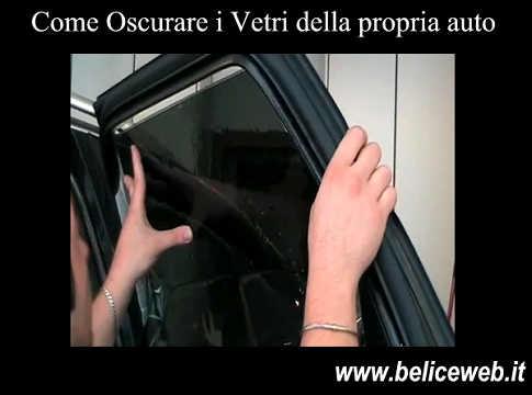 Come oscurare vetri auto senza pellicola