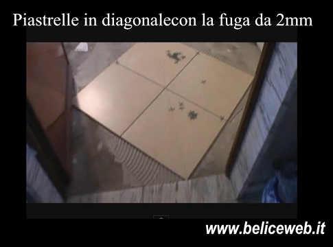 Come posare le piastrelle in diagonale sul pavimento - Posare le piastrelle ...