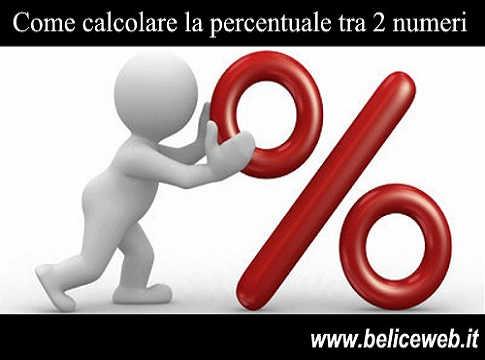 Percentuale Come Calcolare La Percentuale Tra Due Numeri