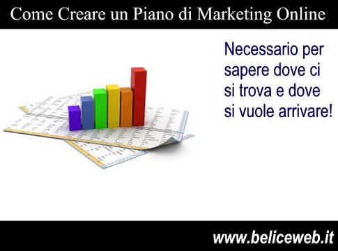 Piano di marketing per un sito web ecco come fare for Pianificatore di piano online